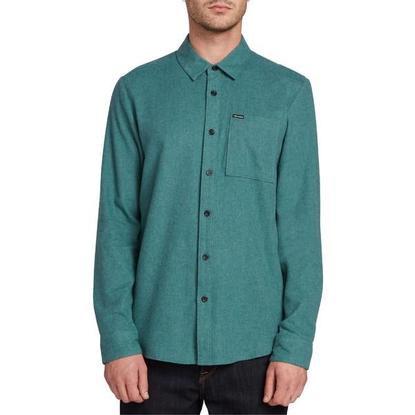ボルコム メンズ シャツ トップス Volcom Caden Woven Shirt Med