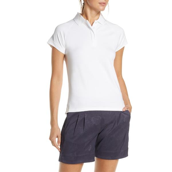 ナイキ レディース ポロシャツ トップス Nike Dri-FIT UV Short Sleeve Golf Polo White/ White