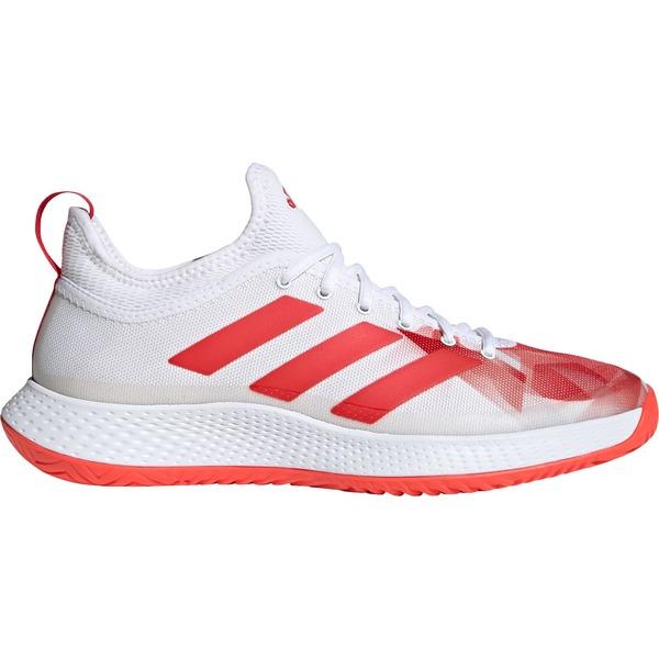adidas メンズ スポーツ テニス White/Red 全商品無料サイズ交換 アディダス メンズ テニス スポーツ adidas Men's Defiant Generation Tennis Shoes White/Red