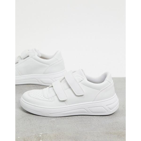 エイソス レディース シューズ メーカー公式 スニーカー White 全商品無料サイズ交換 ASOS sneakers in Dario DESIGN skater 全国一律送料無料 white