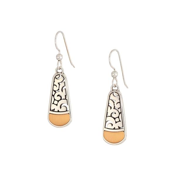 ブライトン レディース ピアス&イヤリング アクセサリー Catania French Wire Earrings Silver/Gold