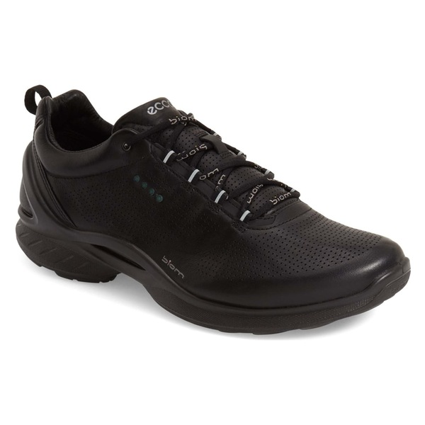 エコー メンズ スニーカー シューズ ECCO 'BIOM Fjuel' Sneaker (Men) Black Leather
