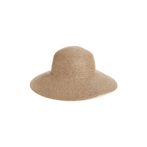エリックジャヴィッツ レディース 帽子 アクセサリー Eric Javits 'Hampton' Straw Sun Hat Bark