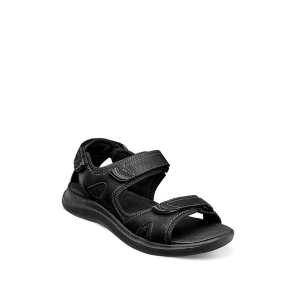 BLACK サンダル Rio 3-Strap Sandal メンズ シューズ River Vista ノンブッシュ