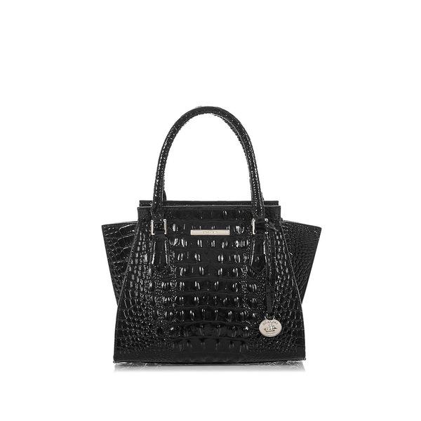 ブランミン レディース ハンドバッグ バッグ MiniPriscilla Convertible Leather Satchel Black