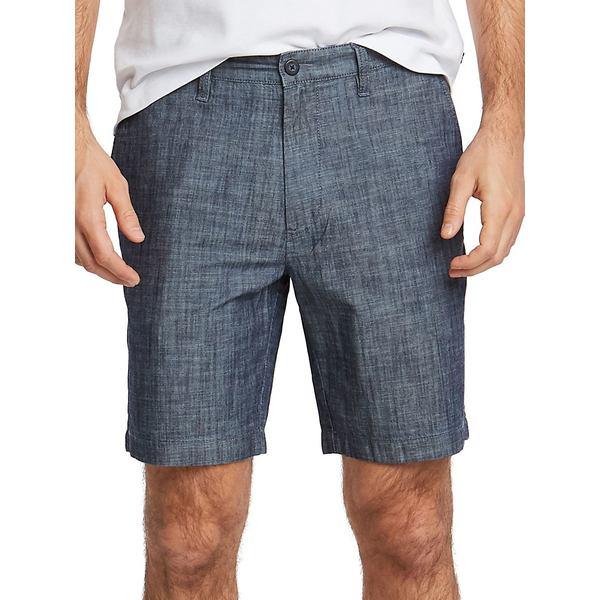ナウティカ メンズ ハーフ&ショーツ ボトムス Classic-Fit Chambray Deck Shorts Real Grey