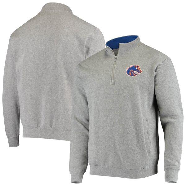 コロシアム メンズ ジャケット&ブルゾン アウター Boise State Broncos Colosseum Tortugas Logo Quarter Zip Jacket Royal
