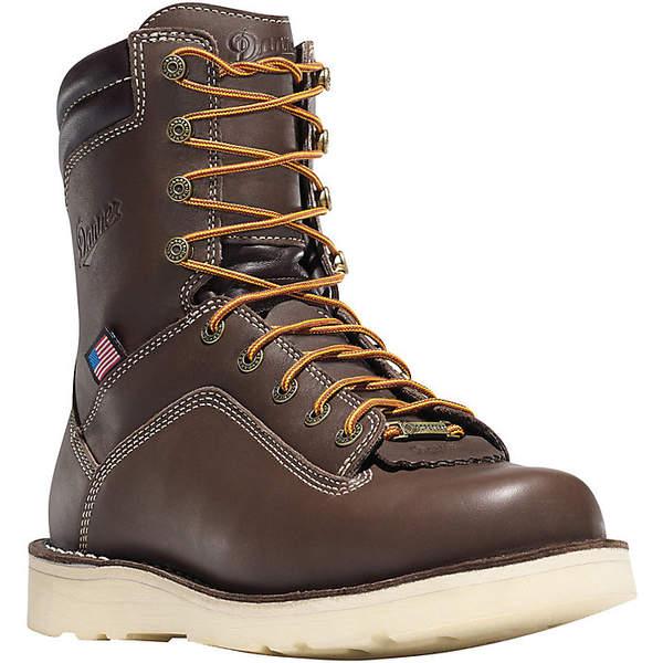 ダナー メンズ ブーツ&レインブーツ シューズ Danner Men's Quarry USA 8IN GTX AT Wedge Boot Brown