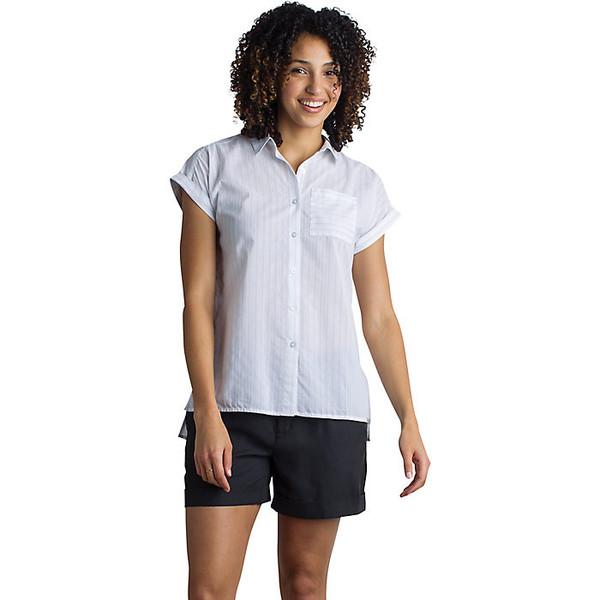 エクスオフィシオ レディース シャツ トップス ExOfficio Women's Lencia SS Shirt White