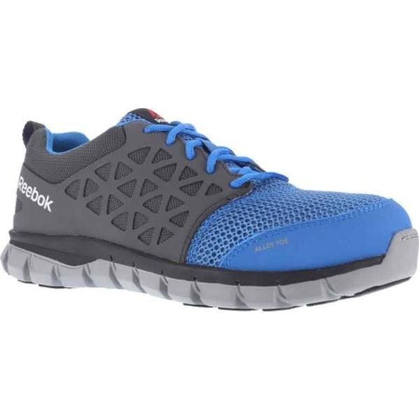 リーボック レディース スニーカー シューズ Sublite Cushion RB044 Work Shoe Blue/Grey Synthetic