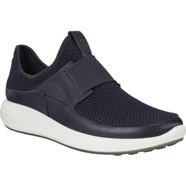 エコー レディース スニーカー シューズ Soft 7 Runner Slip On Sneaker Night Sky/Night Sky Ombre Leather/Textile