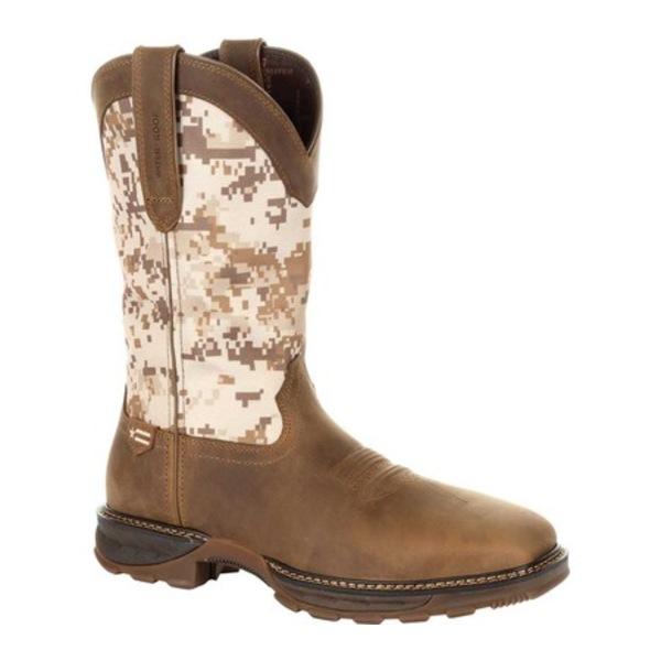 ヂュランゴ メンズ ブーツ&レインブーツ シューズ DDB0207 Maverick XP Ventilated Western Work Boot Dusty Brown/Desert Camo Full Grain Leather/Nylon