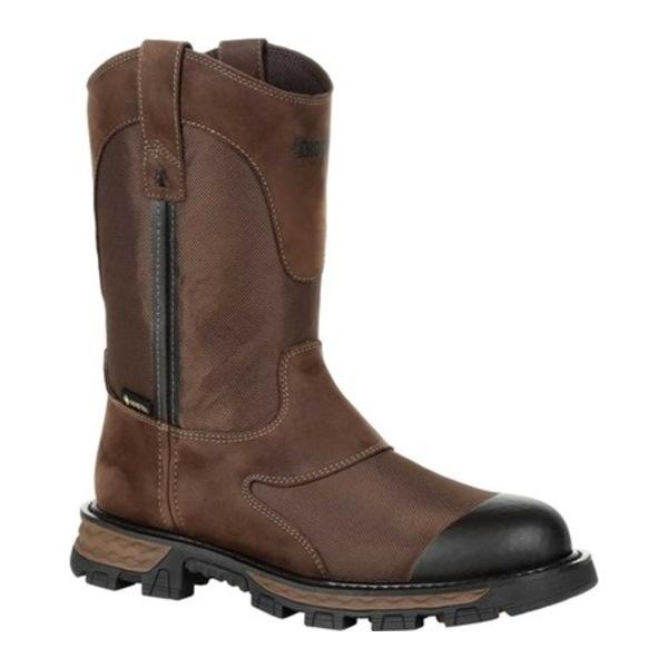 ロッキー メンズ ブーツ&レインブーツ シューズ Cornstalker NXT GTX WP Outdoor Boot RKS0465 Bark Brown Cordura/Full Grain Leather