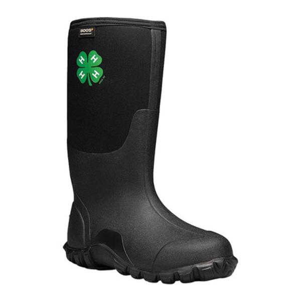 ボグス メンズ ブーツ&レインブーツ シューズ Classic Tall 4-H Waterproof Rain Boot Black Rubber/Textile