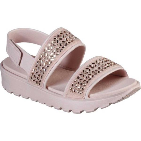 スケッチャーズ レディース サンダル シューズ Cali Gear Footsteps Glam Party Slingback Blush Pink