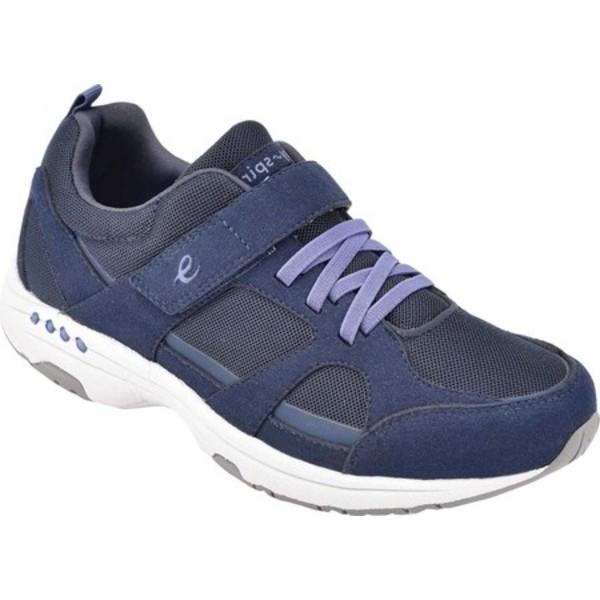イージースピリット レディース スニーカー シューズ Treble 2 Sneaker Blue Synthetic Fabric