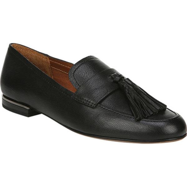 フランコサルト レディース サンダル シューズ Brixley Kiltie Loafer Black Leather