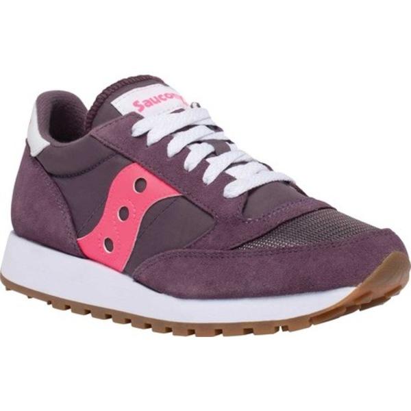 サッカニー レディース スニーカー シューズ Jazz Original Vintage Sneaker Ephemera/Pink