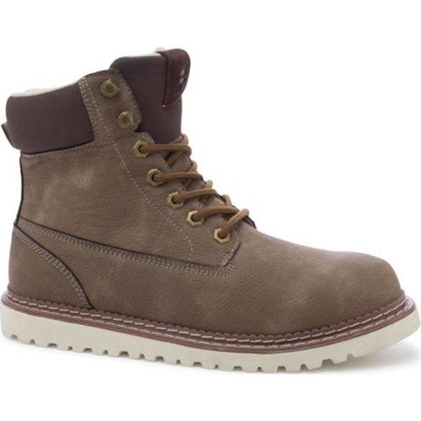 フィラ メンズ ブーツ&レインブーツ シューズ Madison Boot Walnut/Espresso/Fila Cream