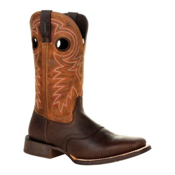 ロッキー メンズ ブーツ&レインブーツ シューズ Dakota Ridge Pull On Western Boot RKW0312 Dark Chocolate/Burnt Orange Leather