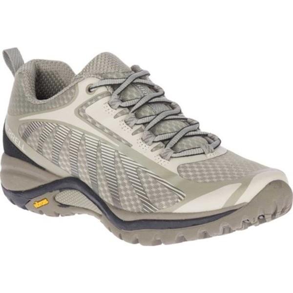 メレル レディース ブーツ&レインブーツ シューズ Siren Edge 3 Hiking Shoe Aluminum/Boulder Mesh/TPU