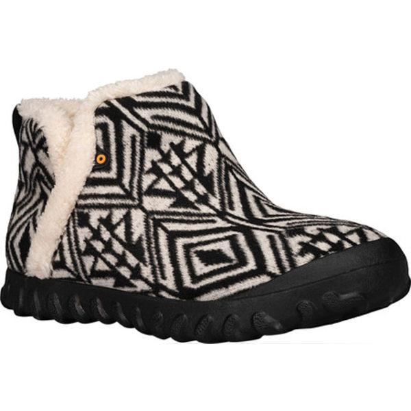 ボグス レディース サンダル シューズ B Moc Geo Waterproof Bootie Slipper Dark Grey Multi Textile/Wool