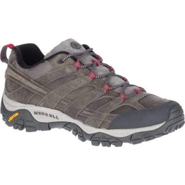 メレル メンズ ブーツ&レインブーツ シューズ Moab 2 Prime Hiking Shoe Charcoal Full Grain Leather