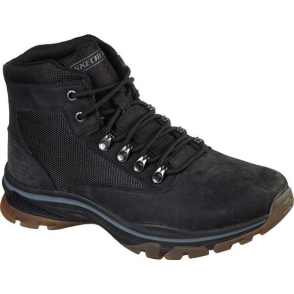 スケッチャーズ メンズ ブーツ&レインブーツ シューズ Relaxed Fit Ralcon Lorken Ankle Boot Black