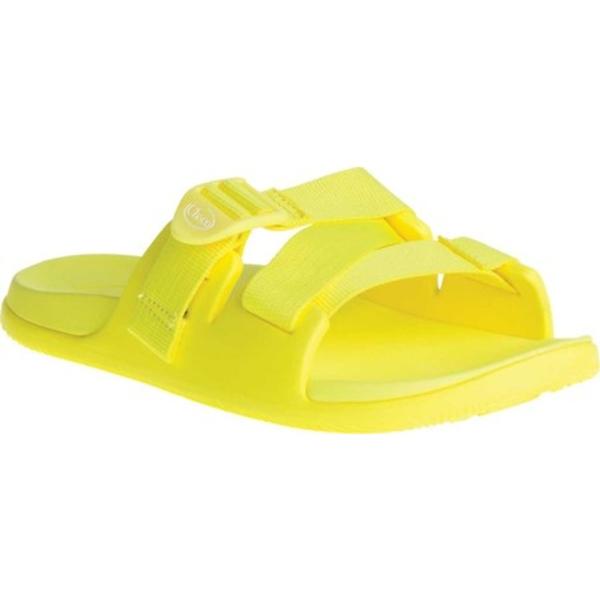 チャコ レディース サンダル シューズ Chillos Vegan Slide Lemon