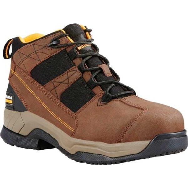アリアト メンズ ブーツ&レインブーツ シューズ Contender Steel Toe Work Boot Brown Full Grain Leather