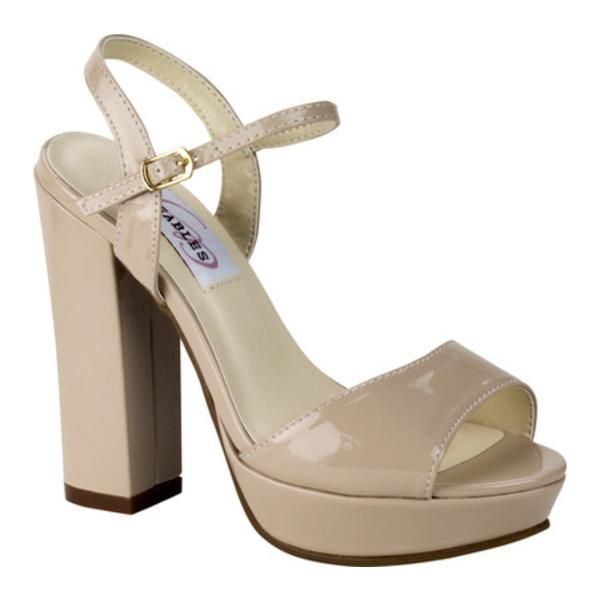 ダイエイブルズ レディース サンダル シューズ Whitta Platform Sandal Nude Shimmer