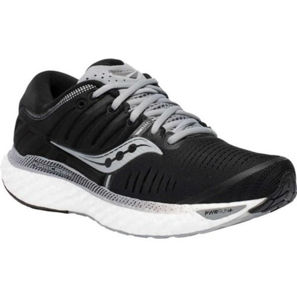サッカニー レディース スニーカー シューズ Hurricane 22 Running Sneaker Black/White