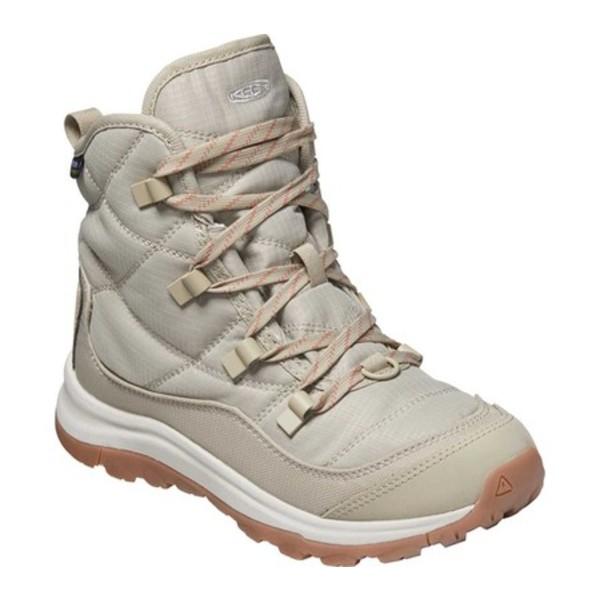 キーン レディース ブーツ&レインブーツ シューズ Terradora II Winter Waterproof Boot Plaza Taupe/Redwood