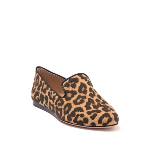 ヴェロニカ サンダル レディース シューズ ベアード Loafer Leopard Printed Griffin CAMEL