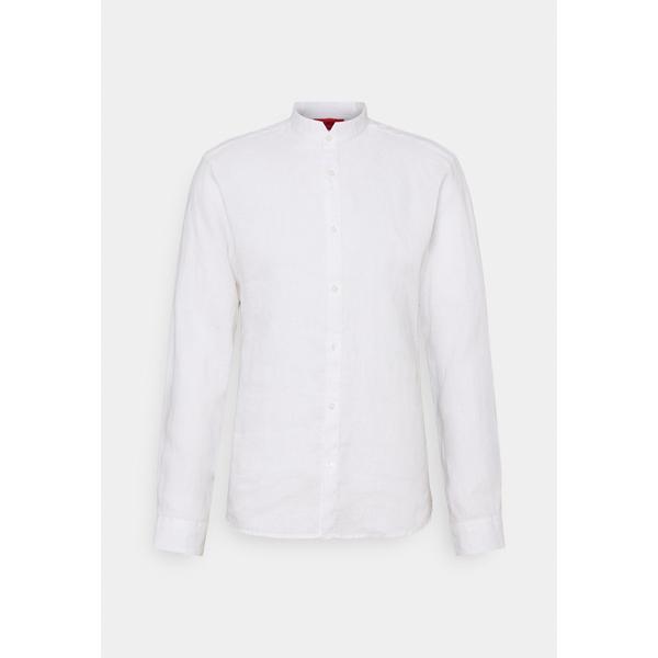 フューゴ メンズ トップス 気質アップ シャツ open white ELVORINI udod01e1 全商品無料サイズ交換 Shirt セールSALE%OFF -