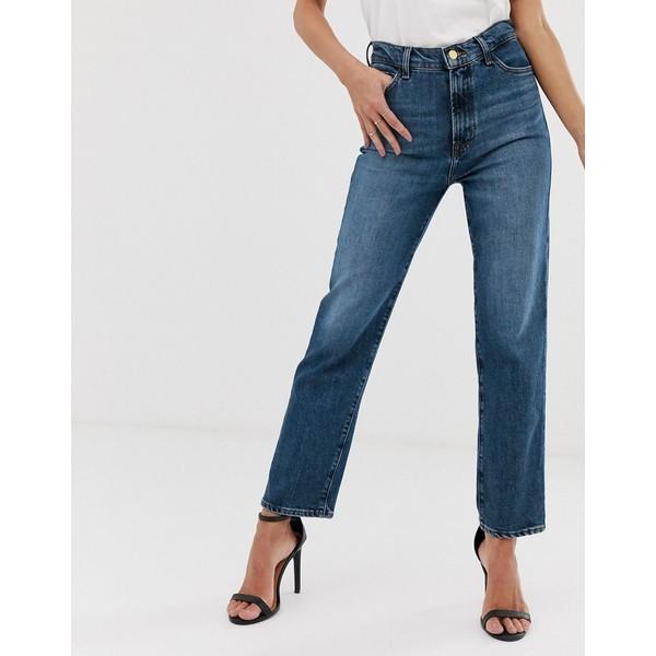 ジェイブランド レディース デニムパンツ ボトムス J Brand Jules high rise straight leg jeans Metropole