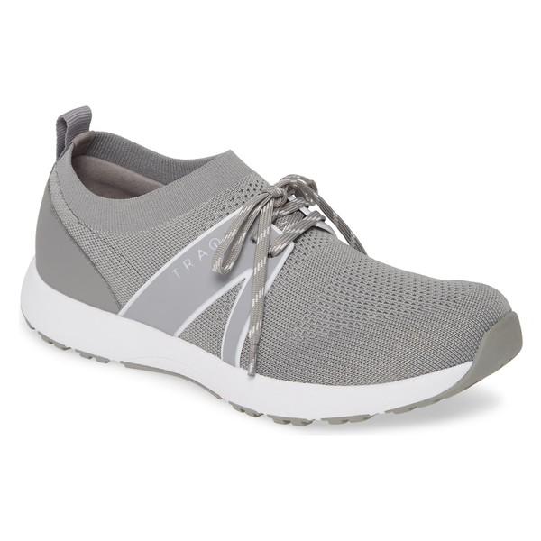 アレグリア レディース スニーカー シューズ Alegria Qool Water Resistant Knit Sneaker (Women) Grey