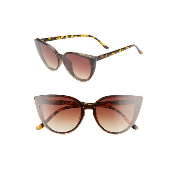ビーピー レディース サングラス&アイウェア アクセサリー BP. Flat Front Cat Eye Sunglasses Tort