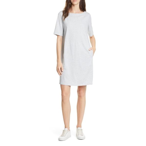 エイリーンフィッシャー レディース ワンピース トップス ワンピース Eileen トップス Fisher Organic Cotton Blend レディース Shift Dress Pearl, かんてい局 横浜港南店:954ef0d4 --- officewill.xsrv.jp