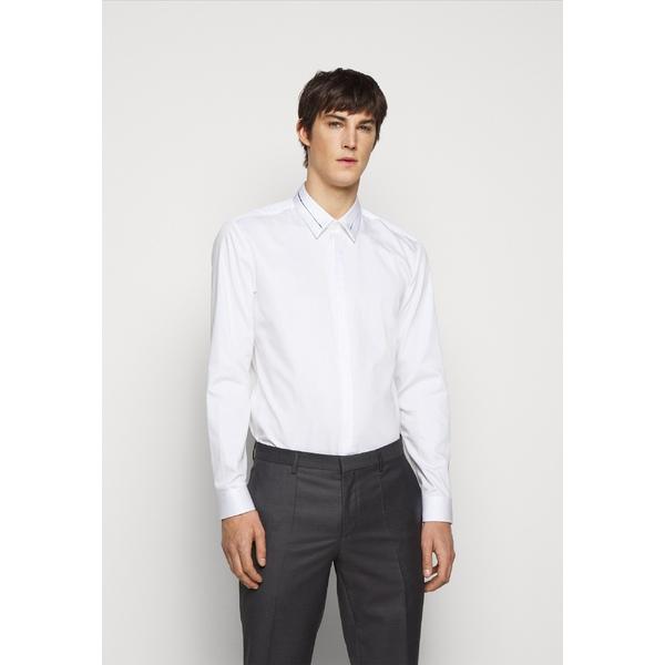 フューゴ メンズ ブランド品 トップス シャツ 割り引き open white shirt Formal 全商品無料サイズ交換 KEEFE - uidt001c