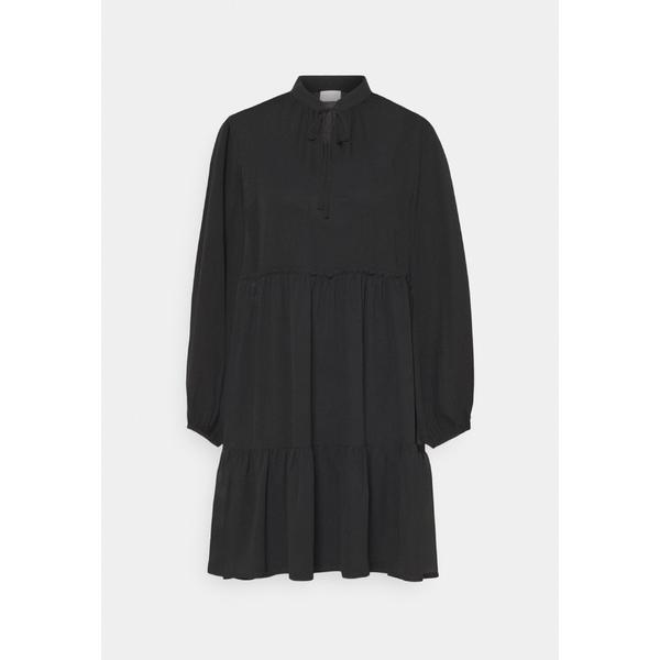 ヴィラ レディース 供え 最安値に挑戦 トップス ワンピース black 全商品無料サイズ交換 Day uidt001d DRESS dress - VITULLAN