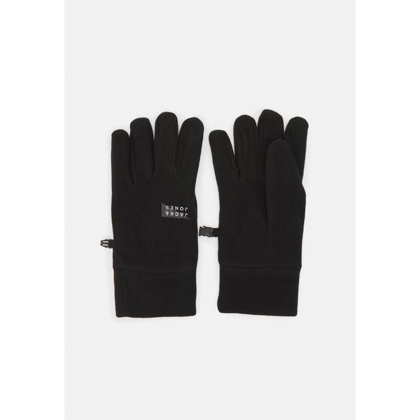 ジャック アンド ジョーンズ メンズ 新登場 アクセサリー 手袋 - 受注生産品 black GLOVE 全商品無料サイズ交換 JACWEST Gloves