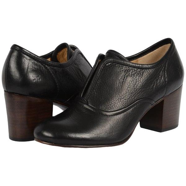 フライ レディース ヒール シューズ Stella Slip Black Soft Vintage Leather