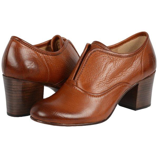 フライ レディース ヒール シューズ Stella Slip Whiskey Soft Vintage Leather