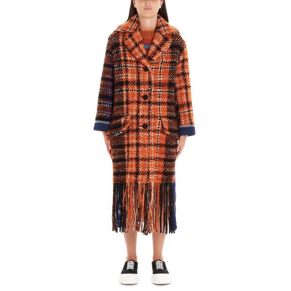 マルニ レディース ジャケット&ブルゾン アウター Marni 'blanchet' Coat Multicolor