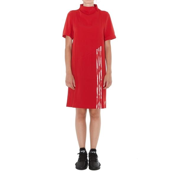 アディダスオリジナルス レディース ワンピース トップス Adidas Originals Logo Dress Red