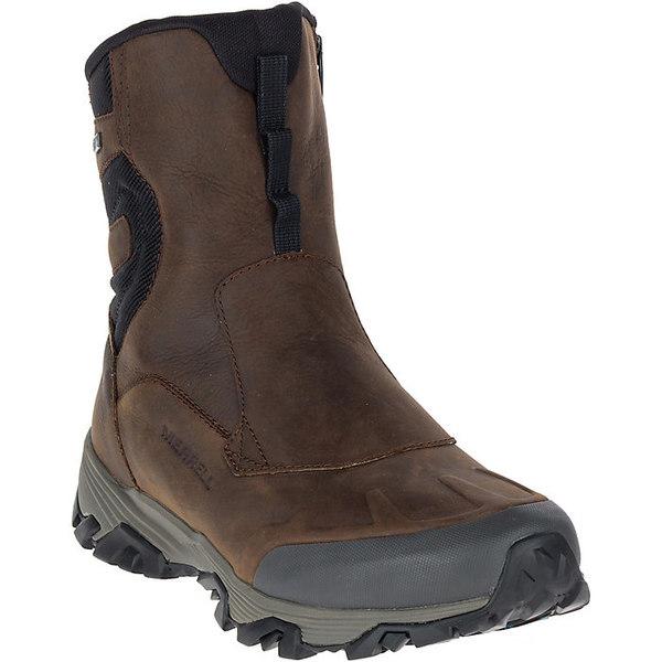 メレル メンズ ハイキング スポーツ Merrell Men's Coldpack Ice+ 8IN Zip Polar Waterproof Boot Copper Mountain