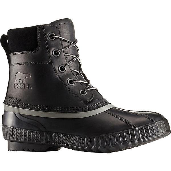 ソレル メンズ ハイキング スポーツ Sorel Men's Cheyanne II Boot Black / Black