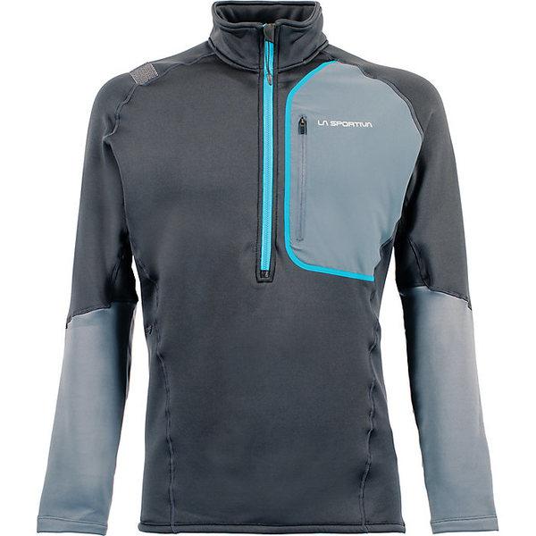 ラスポルティバ メンズ フィットネス スポーツ La Sportiva Men's Millennium Pullover Carbon / Slate
