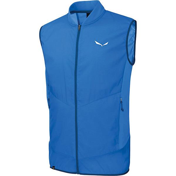 サレワ メンズ ジャケット&ブルゾン アウター Salewa Men's Pedroc Hybrid PTC Alpha Vest Royal Blue